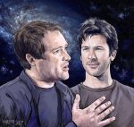 Through Space and Time by Leyna-art