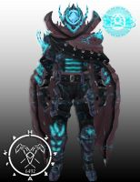 (Kings End ornament) Zero Hunter armor by Hellmaster6492