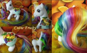My little Pony Custom Cutie by BerryMouse
