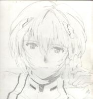 Rei Ayanami-I love your smile by Rodinas