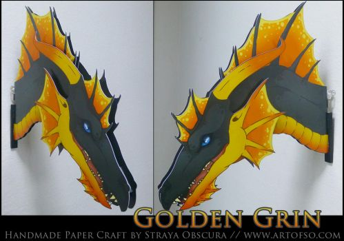 Golden Grin by StrayaObscura