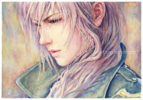 Lightning Watercolor by B-AGT