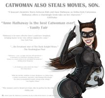 Catwoman Stealin' Movies by kinjamin