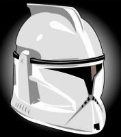 Star Wars Clone Trooper by AlienHeadBoy