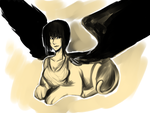 30 Day Monster Challenge - Day 11 - Sphinx by sp00ntane0us
