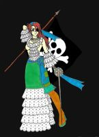 Pearly Pirate a Contest Entry by A-Redheads-Ramblings