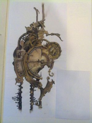 Steampunk Clock by BakaNekoHime