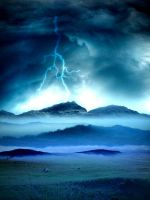 Natures storm by Arabiian