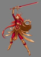 League of Legends - Leona (no background) by Calabolg