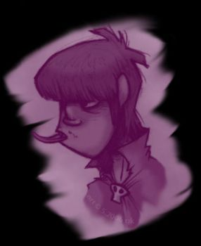 misc grape murdoc by worm-baby