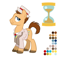 Reference Sheet: Seventh Doctor by LissyStrata