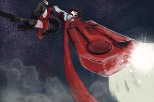 Red like roses: Ruby by PendragonSky