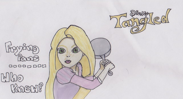 Tangled: Frying Pans by DillyShilly