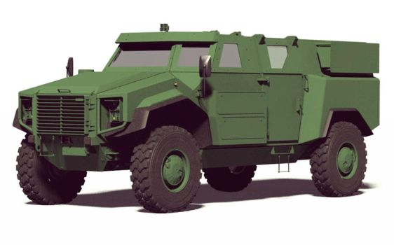 Armored Personnel Carrier by GGMVDB