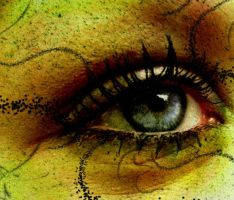 mermaid eye by sarafreak