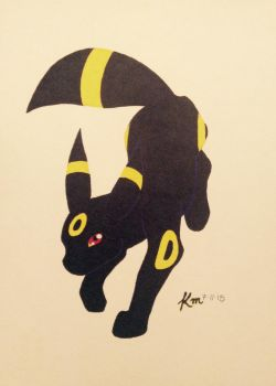 Umbreon by TheGoodLion