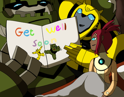 Thank You - Get Well Soon by CoolFireBird