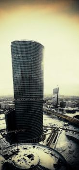 Moscow-City by Dmitriyphoto