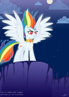 Super Rainbow Dash- Request by theX-plotion