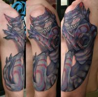 cheshire cat full view by Phedre1985