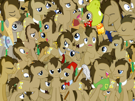 Too Much Dr Whooves by X-TURENT