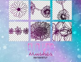 +Flowers Brushes by ISatQuietly
