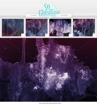Textures - Purple Paint by So-ghislaine