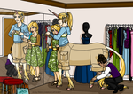Lucian - OC Pageant - Round 3 - Shopping by Gwennafran