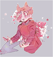 Flowers are always fun, right? - ((Eddsworld)) by MariChan03