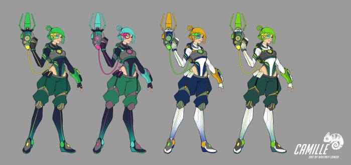 Camille Color Variants by DreamerWhit