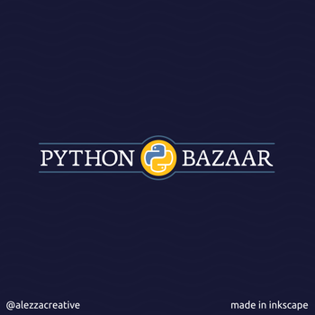 Python bazzar logo by alezzacreative
