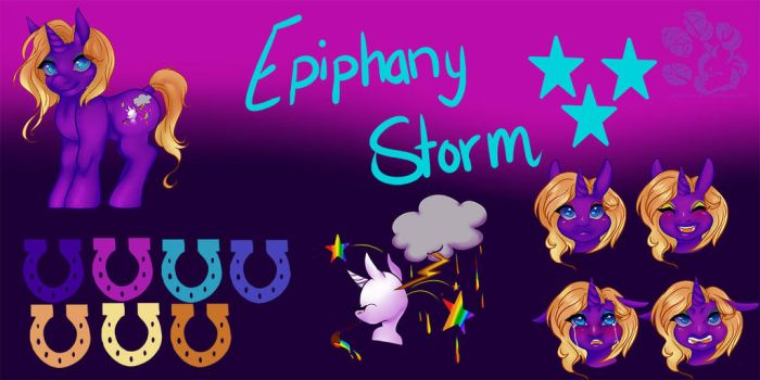 Epiphany Storm Revamp Reference Sheet 2015 by kharismaticdreams