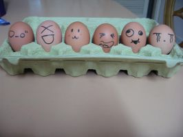 Eggs by Kimcase