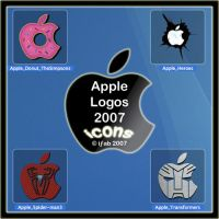 Apple Logos 2007 - Icons by iFab