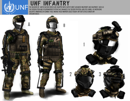 UNF Soldiers Concept by n00bmodders