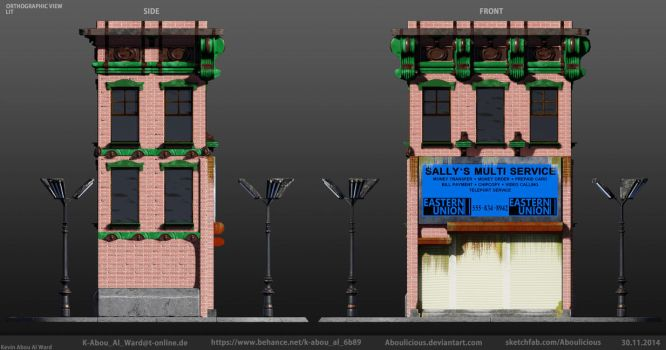 Building: Sally's Multi Service Orthographic LIT by Aboulicious