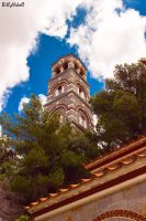 Church Bell Tower of St. George Selinar by BillyNikoll