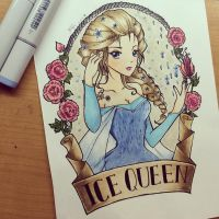 The Ice Queen by Peahedge