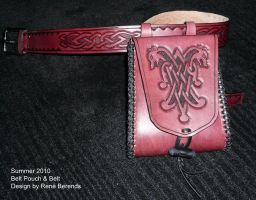 Belt Pouch and Belt by Azael047