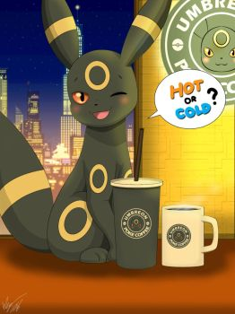 Hot or Cold? ( Umbreon ) by Winick-Lim
