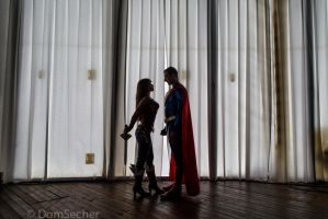 Wonder Woman and Superman Injustice by joulii91
