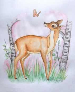 Mother of Bambi by Fuela