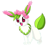 Four-Seasons-of-Eevee: Spring by EleanorTopsie