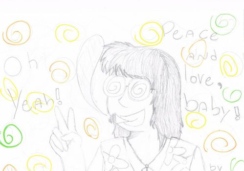 Peace and love,baby by Ceh140