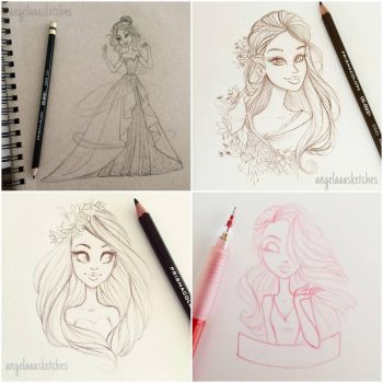 Sketch Dump 2 by angelaaasketches