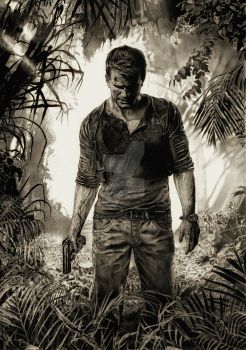 uncharted 4 nathan drake finished scan by gregginho23
