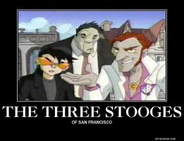 The three stooges by Maddygirl13