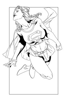 SuperGirl by DHinking