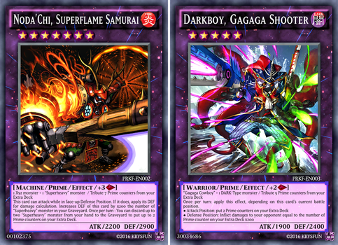 +2 Additional Prime cards by KrysFun