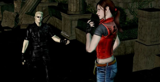 Lovely Claire Redfield by WolfShadow14081990